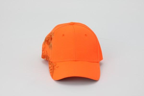 DRI DUCK Blaze Orange Quail Cap 360 View