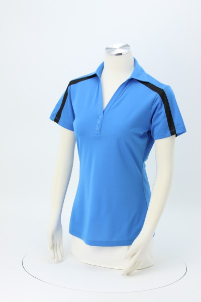 Silk Touch Sport Colorblock Polo - Ladies' 360 View
