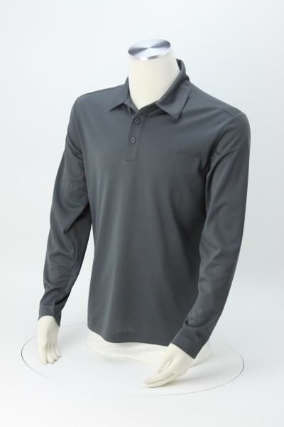 Silk Touch Performance LS Sport Polo - Men's 360 View