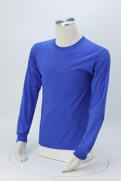Gildan 6 oz. Ultra Cotton LS T-Shirt - Men's - Full Color - Colors 360 View