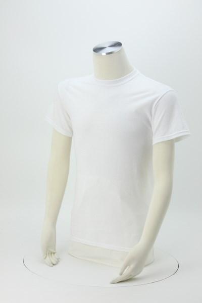 Gildan 5.3 oz. Cotton T-Shirt - Men's - Full Color - White 360 View
