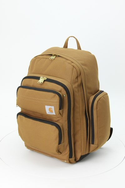 Carhartt Legacy Deluxe Work Laptop Backpack - Embroidered 360 View