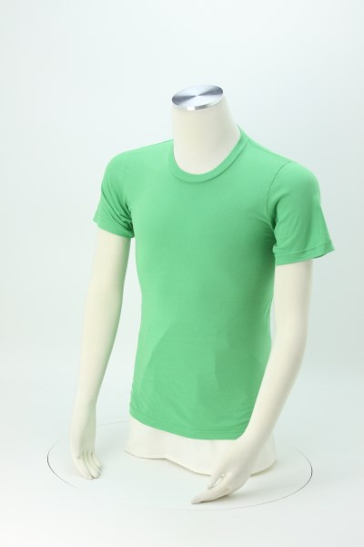 American Apparel Fine Jersey T-Shirt - Men's - Colors - Screen - USA Made 360 View