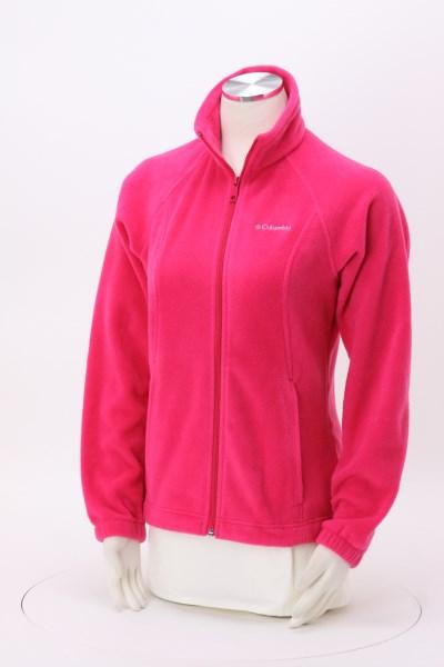 Columbia Full-Zip Fleece Jacket - Ladies' - 24 hr 360 View