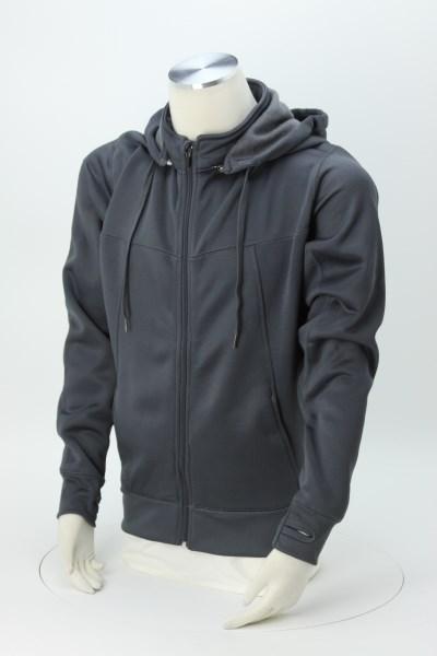 Hi-Tech Full-Zip Hooded Sweatshirt - Embroidered 360 View