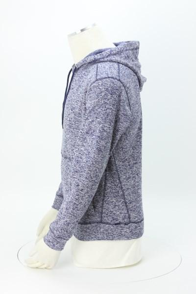 J. America - Cosmic Poly Fleece Hoodie - Men's - Embroidered 360 View