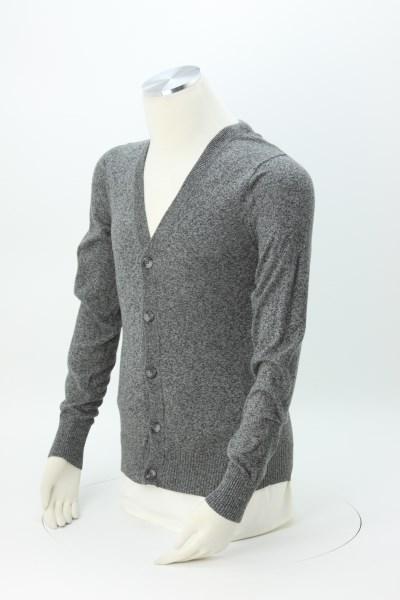 Cotton Blend Cardigan Sweater - Men's 360 View