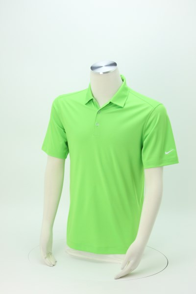 Nike Performance Vertical Mesh Polo - Men's - Embroidered 360 View