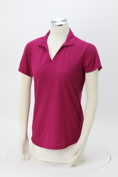 Snag Resistant Textured Performance Polo - Ladies' 360 View