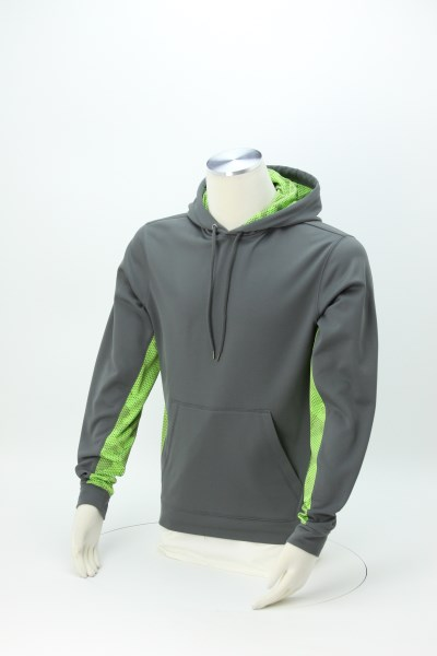 Camo Colorblock Performance Hoodie 360 View