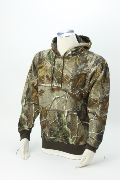 Perspective 10 oz. Hoodie - Camo - Embroidered 360 View