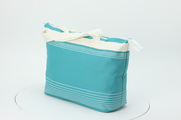 Marbella Zippered Tote 360 View