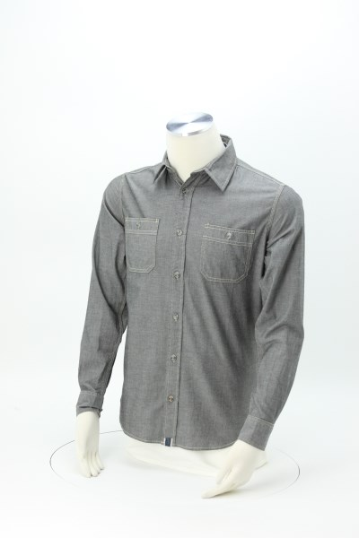 Weatherproof Vintage Chambray Shirt - Men's' 360 View