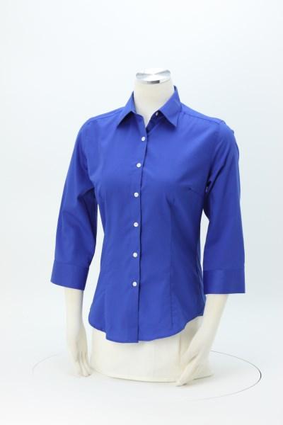 Van Heusen Baby Twill Shirt - Ladies' 360 View