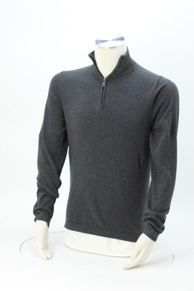Weatherproof 1/4-Zip Vintage Cotton Cashmere Sweater 360 View