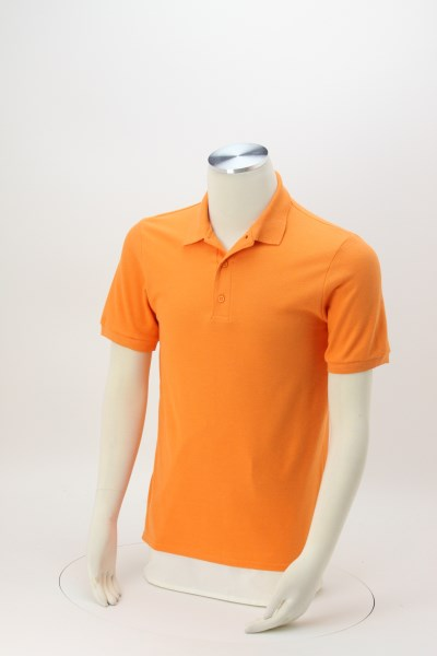 Gildan Premium Cotton Double Pique Polo - Men's - Embroidered 360 View