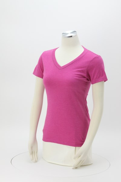 Perfect Blend V-Neck Tee - Ladies' 360 View