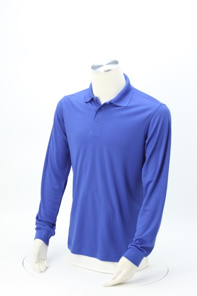 Vital Long Sleeve Performance Polo - Men's 360 View