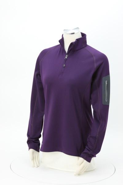 Eddie Bauer 1/2-Zip Stretch Microfleece Pullover - Ladies' 360 View