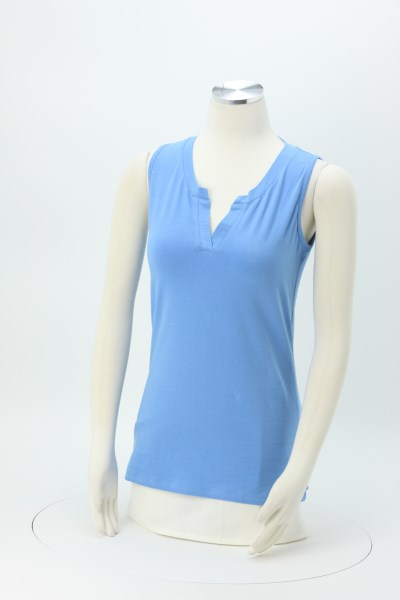 Lucy Sleeveless Top 360 View