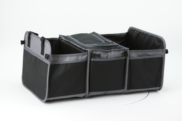 Trunk Organizer with Cooler 360 View