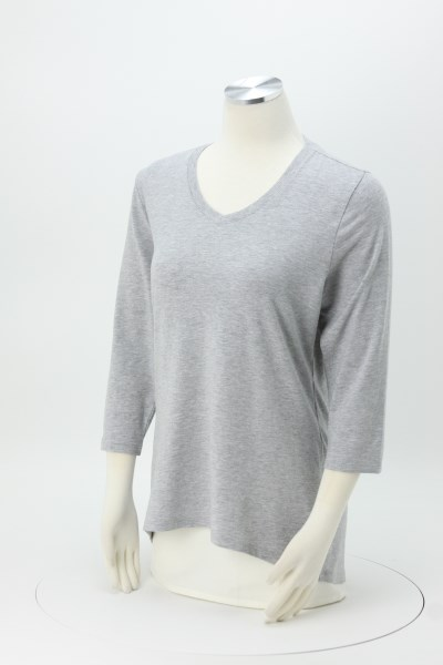 Perfect Fit V-Neck Top 360 View
