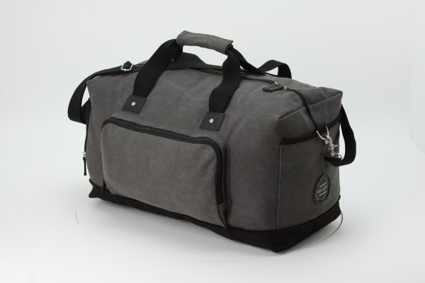Field & Co. Hudson Duffel - Embroidered 360 View