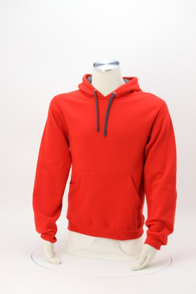 Fruit of the Loom Sofspun Hooded Sweatshirt - Embroidered 360 View