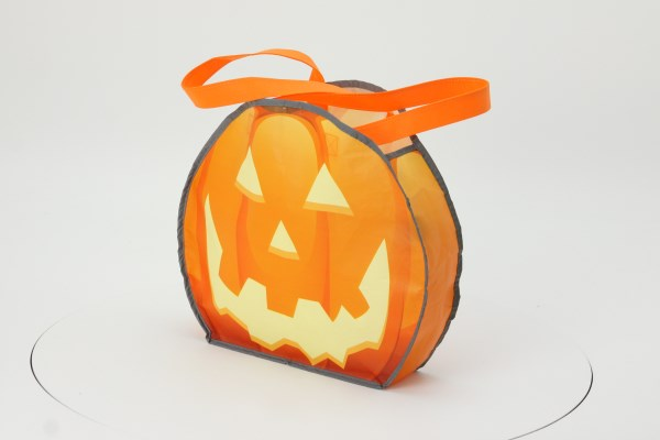 Reflective Pumpkin Tote 360 View