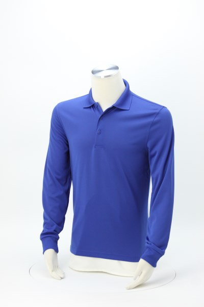 Snag Proof Long Sleeve Polo 360 View