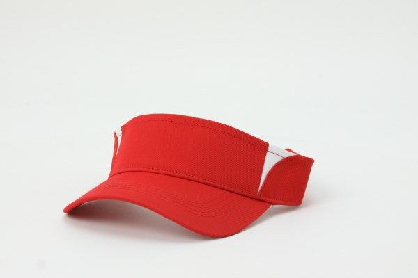 Performance Colorblock Visor 360 View