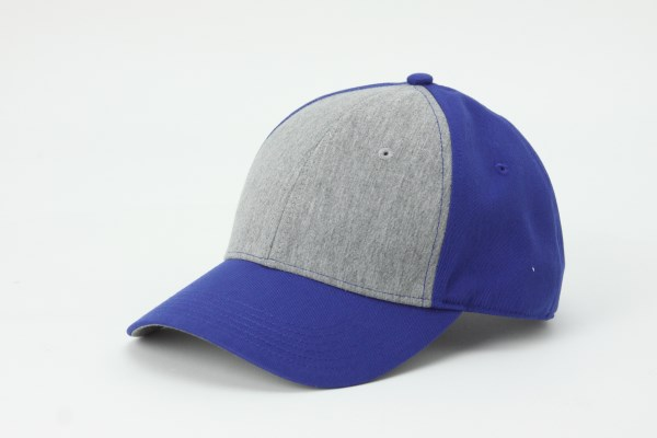 Two Tone Jersey Front Cap 360 View
