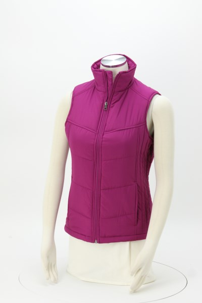 Quilted Puffy Vest - Ladies' 360 View
