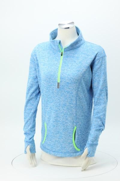 J. America Cosmic Fleece 1/4-Zip Pullover - Ladies' 360 View