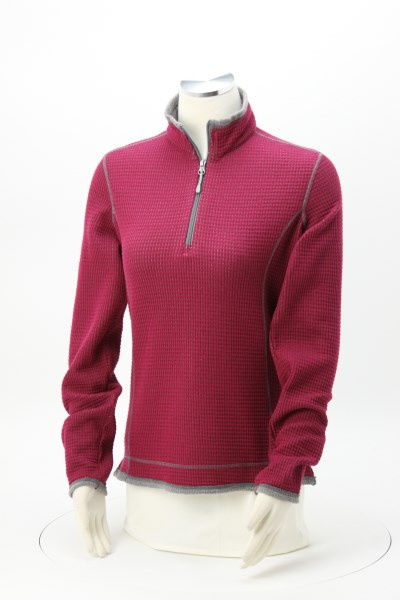 Storm Creek Jarret Waffle Knit 1/4-Zip Fleece - Ladies' 360 View