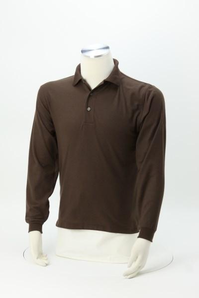 Silk Touch Long Sleeve Sport Shirt - Men's 360 View