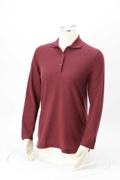 Silk Touch Long Sleeve Sport Shirt - Ladies' 360 View