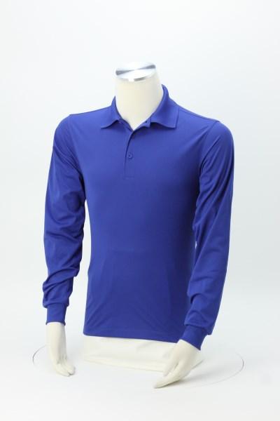 Micropique Sport-Wick Long Sleeve Polo - Men's 360 View