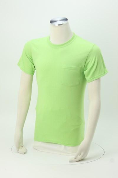 Port 50/50 Blend Pocket T-Shirt - Colors 360 View