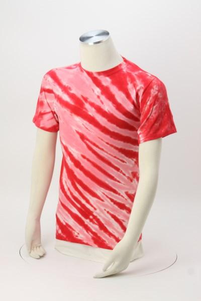 Tie-Dye Animal Stripe T-Shirt 360 View