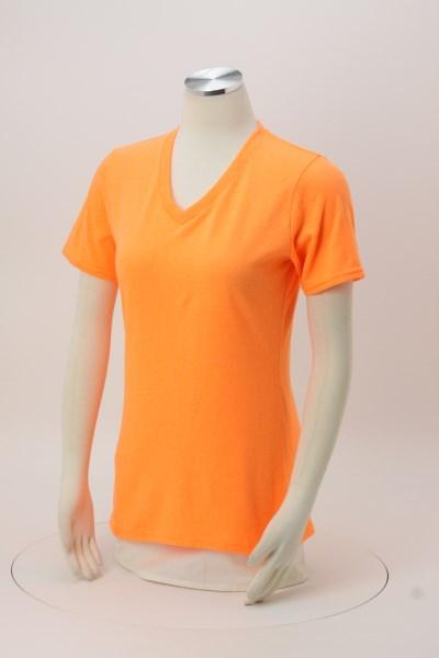 Port Classic 5.4 oz. V-Neck T-Shirt - Ladies' - Colors - Screen 360 View
