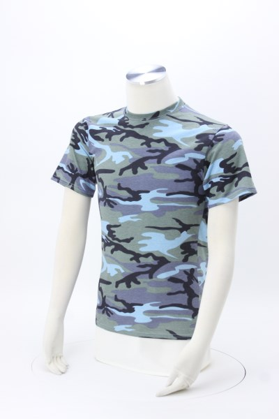 Fashion Camo T-Shirt - Men's 360 View