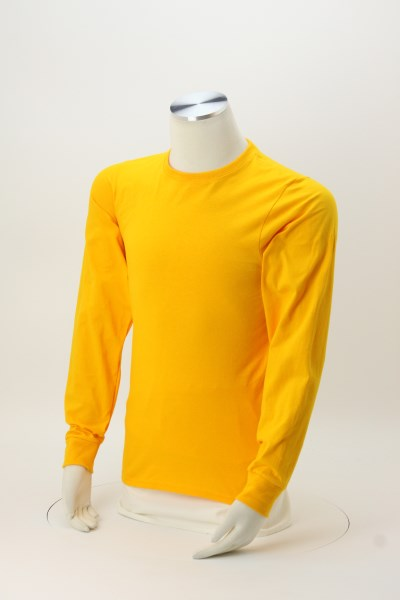 Soft Spun Cotton Long Sleeve T-Shirt - Colors 360 View