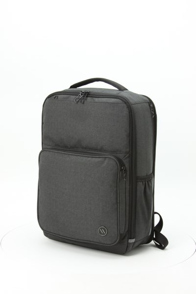 360 View Imprint Area Previous Elleven Squared Checkpoint Friendly Laptop Backpack