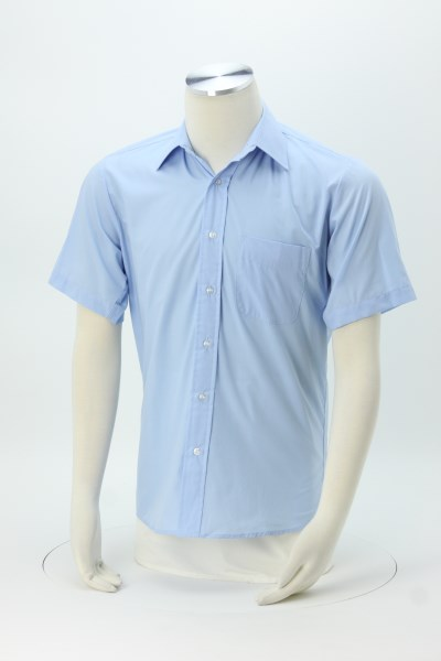 Broadcloth Short Sleeve Dress Shirt - Men's 360 View