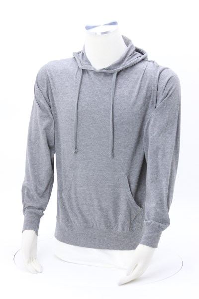 Independent Trading Co Jersey Hooded T-Shirt - Screen 360 View