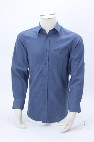 Batiste Polyester Dress Shirt - Men's 360 View