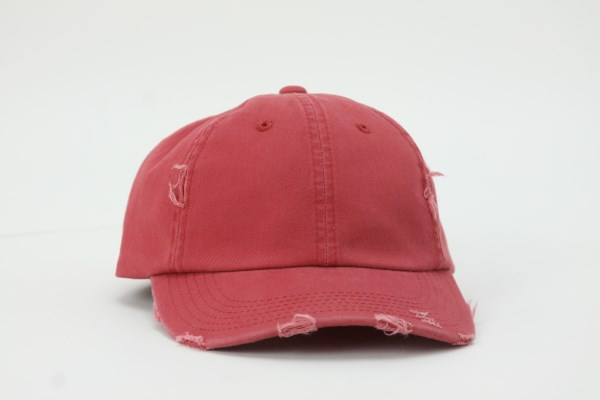 Ripped Twill Cap 360 View