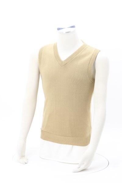 Tuf-Pil Plus Acrylic V-Neck Sweater Vest- Men's 360 View