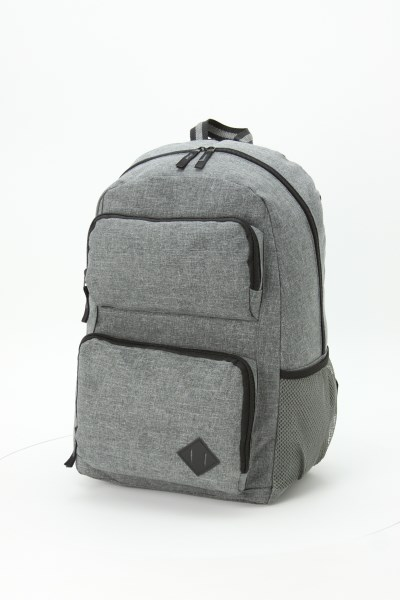 Graphite Deluxe Laptop Backpack 360 View